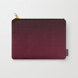 Brown, red , gradient Carry-All Pouch