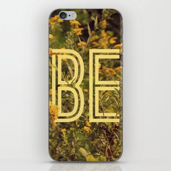 Be iPhone & iPod Skin