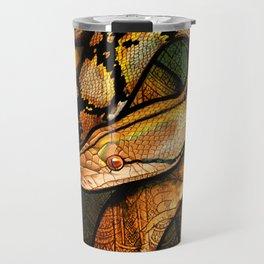 Reticulated Python Travel Mug