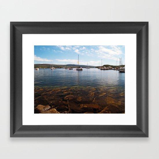 Tobermory Bay Framed Art Print