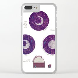 Charting the Nightsky Clear iPhone Case