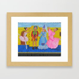 """The princess weds the Jester"" Framed Art Print"