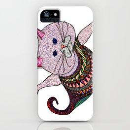 Mer-Kat Meow iPhone Case