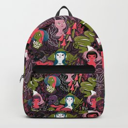 Coven. Witch sisterhood Backpack
