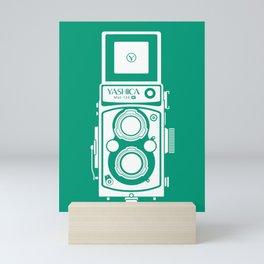 Yashica Mat 124G Camera Emerald Mini Art Print