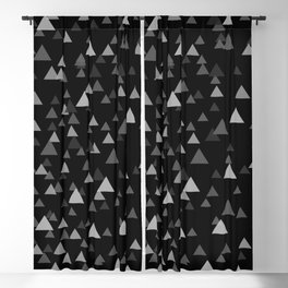 BOKEH ABSTRACT- TRIANGLE Blackout Curtain