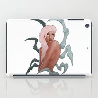 spider iPad Cases featuring Spider by daimontribe