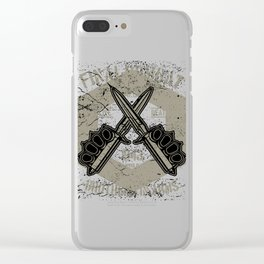 Final Combat - Brothers in Arms Clear iPhone Case