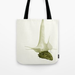 Monochrome - At the butterfly ball Tote Bag