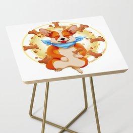 Zen corgi Side Table