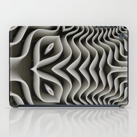 exo iPad Cases featuring Exo-skelton 3D Optical Illusion by BohemianBound