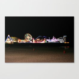 Casino Pier, Seaside Canvas Print