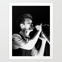 panic at the disco Art Prints featuring Brendon Urie//Panic! At The Disco by kathleenb314
