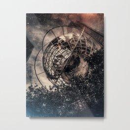 New Yorker: Columbus Circle Metal Print