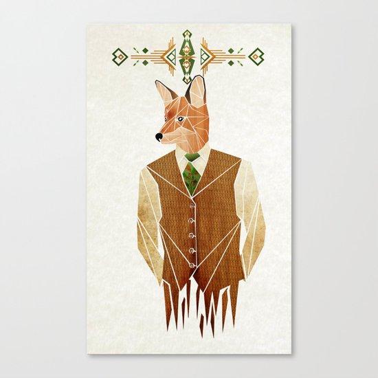 mister fox Canvas Print