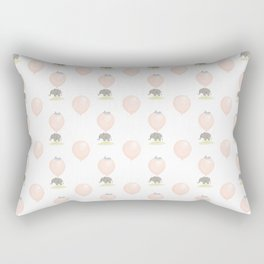 Little flying elephant Rectangular Pillow