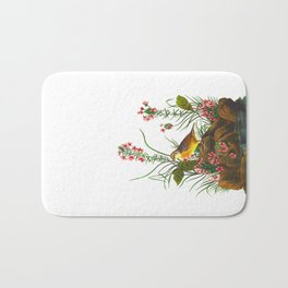 Yellow-winged Sparrow Bath Mat