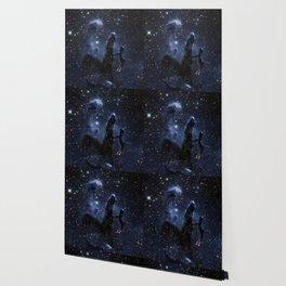 galAXY : Dark Blue Pillars of Creation Wallpaper