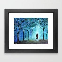 Forest of Light Framed Art Print