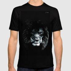Lion spy logo blanc urban fashion culture Jacob's 1968 Paris Agency Mens Fitted Tee Black MEDIUM