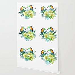 Tropical toucans Wallpaper