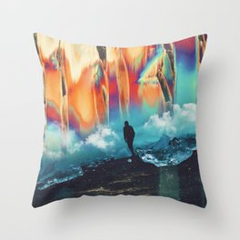 Crystalspace Throw Pillow