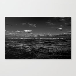 Infinity of darkness Canvas Print