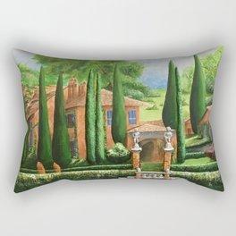 Villa of Lago d' Como Rectangular Pillow