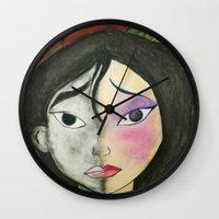 mulan Wall Clocks featuring Mulan by Jgarciat