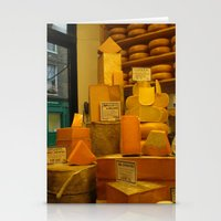 cheese Stationery Cards featuring Cheese! by AuFish92024