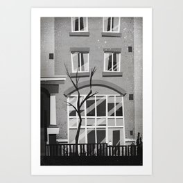 Places I've Lived Series - 11 Art Print