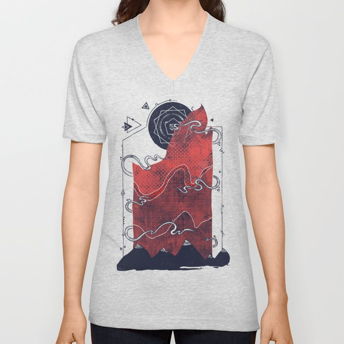 Northern Nightsky Unisex V-Neck
