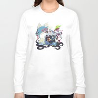 ursula Long Sleeve T-shirts featuring Team Ursula by Citron Vert