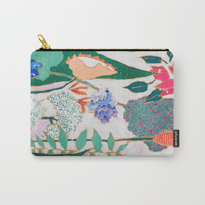 Speckled Garden Carry-All Pouch