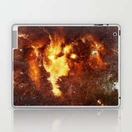 cosmic lion Laptop & iPad Skin