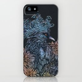Pigeon lullaby iPhone Case