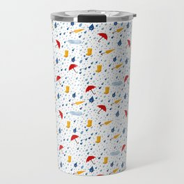 Rainfall pattern Travel Mug