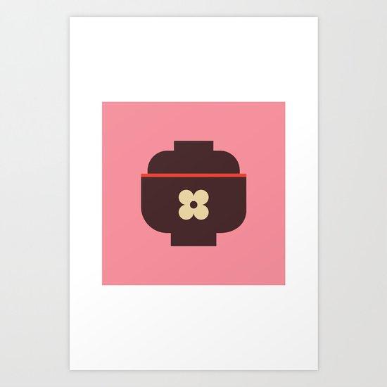 Japan Rice Bowl Art Print