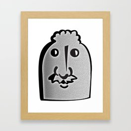Tombstone Guy Framed Art Print