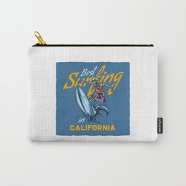 Best Surfing in California Carry-All Pouch