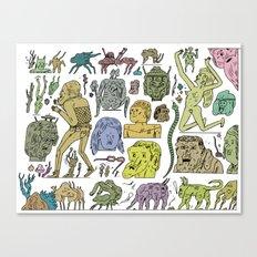 gefgefgefgefgef Canvas Print
