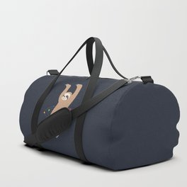 Sloth Galaxy Duffle Bag