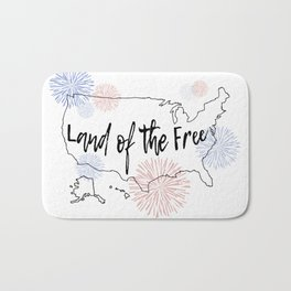 Land of the Free Bath Mat