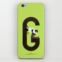 gemma correll iPhone & iPod Skins featuring Gemma & Targa by ChicksAndType