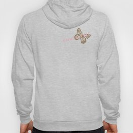 Cute Giant Gold Butterfly Hoody