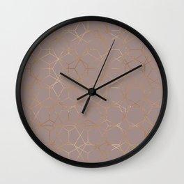 geometric iv x iii Wall Clock