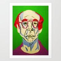 larry david Art Prints featuring Larry David 2 by Alyssa Underwood Contemporary Art