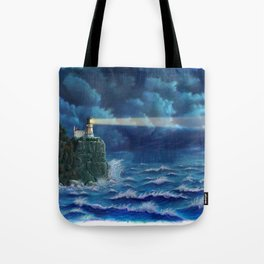 Split Rock Lighthouse, Duluth, MN Tote Bag