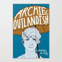 Archie of Outlandish Poster Canvas Print