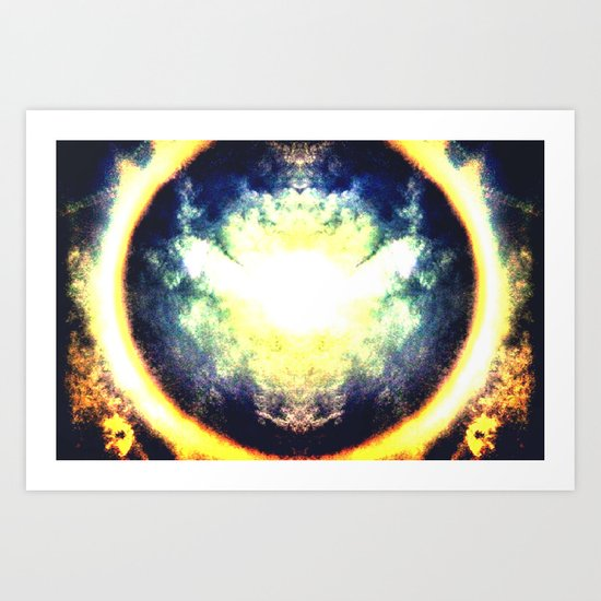 HALO Art Print